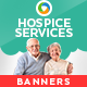 Hospice Care Web Banner Design Set - GraphicRiver Item for Sale