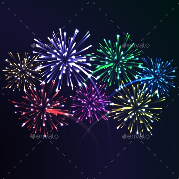 GraphicRiver Firework Night 8980532