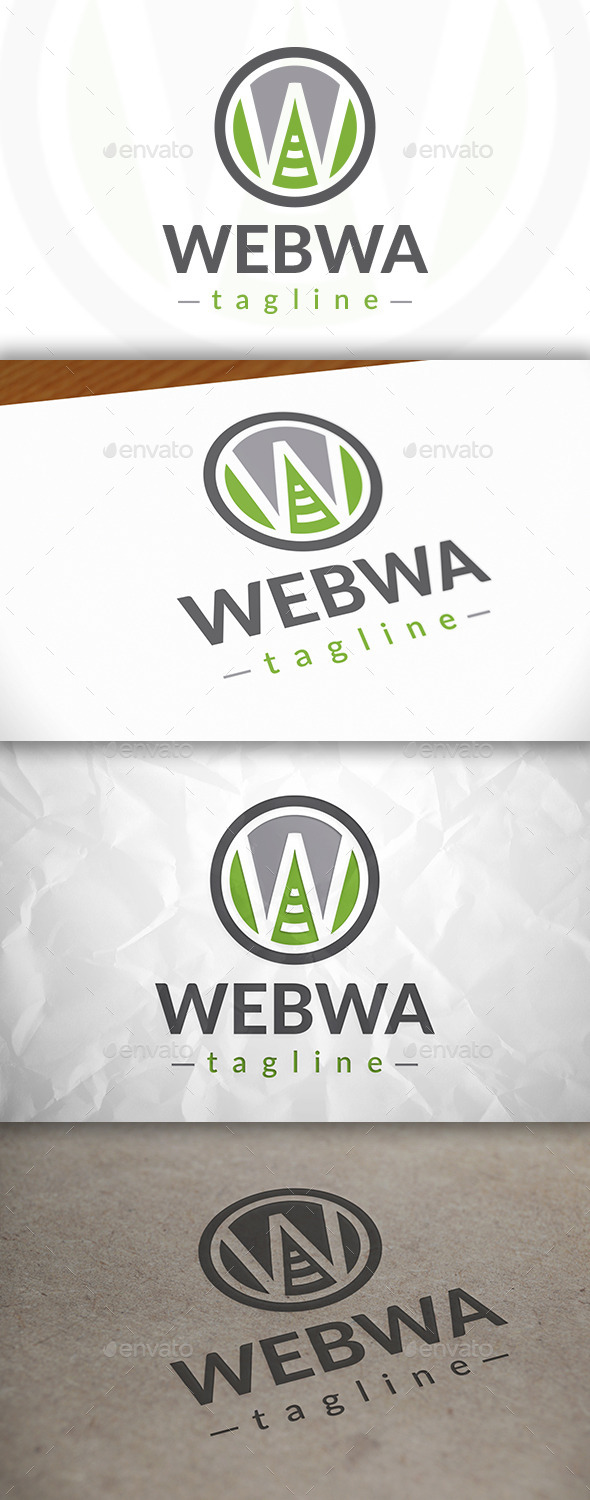 GraphicRiver Web Wave Logo 8980562