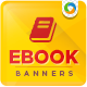 E-Book & Digital Product Web Banners - GraphicRiver Item for Sale
