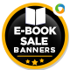 Web Banners for E-Book and Digital Products - GraphicRiver Item for Sale
