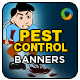 Web Banner Design for Pest Control Service - GraphicRiver Item for Sale