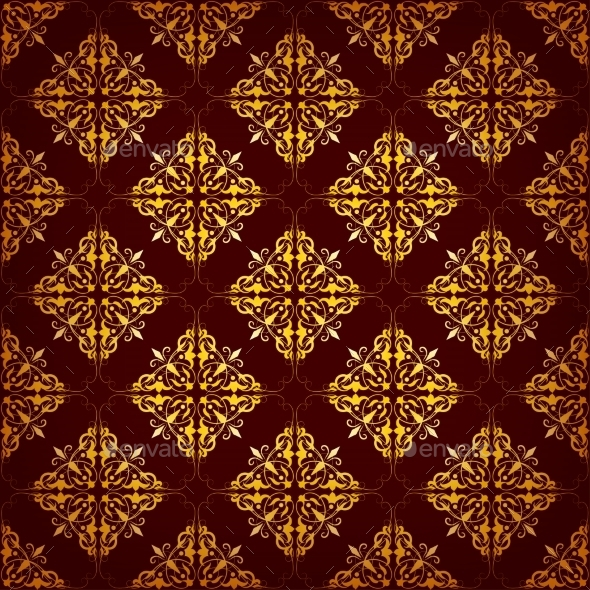 GraphicRiver Seamless Pattern with Ethnic Motifs 8980912