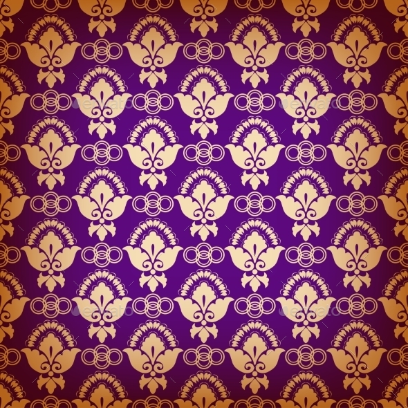 GraphicRiver Seamless Pattern with Ethnic Motifs 8980965
