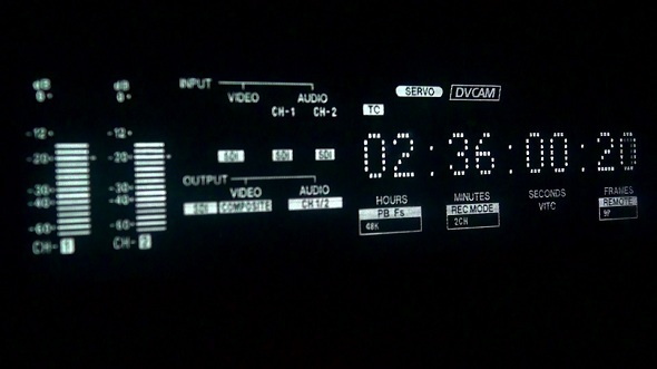 Timecode Display 1