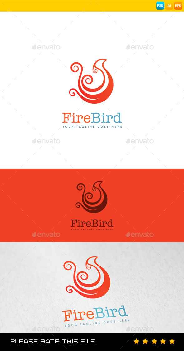 GraphicRiver Bird Logo 8981504