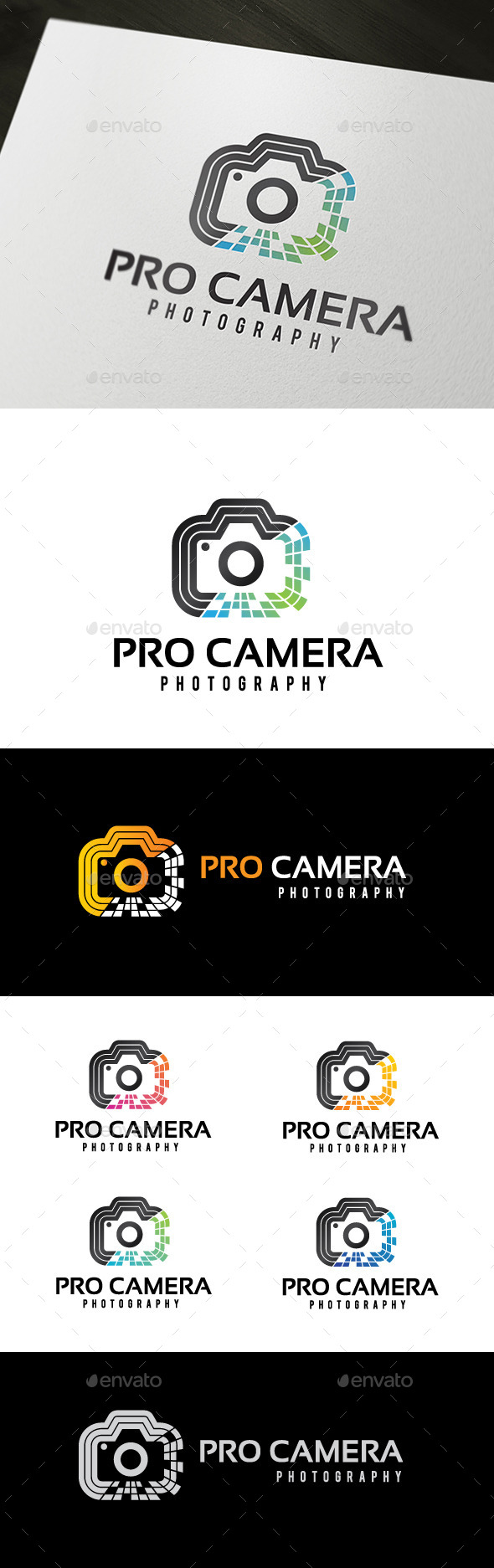 GraphicRiver Pro Camera Logo 8981593