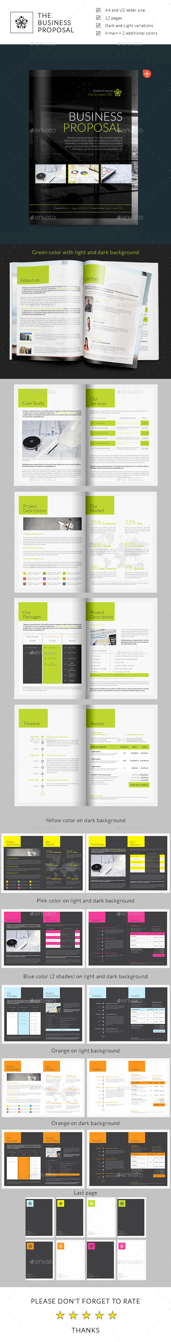 GraphicRiver Business Proposal 8955730