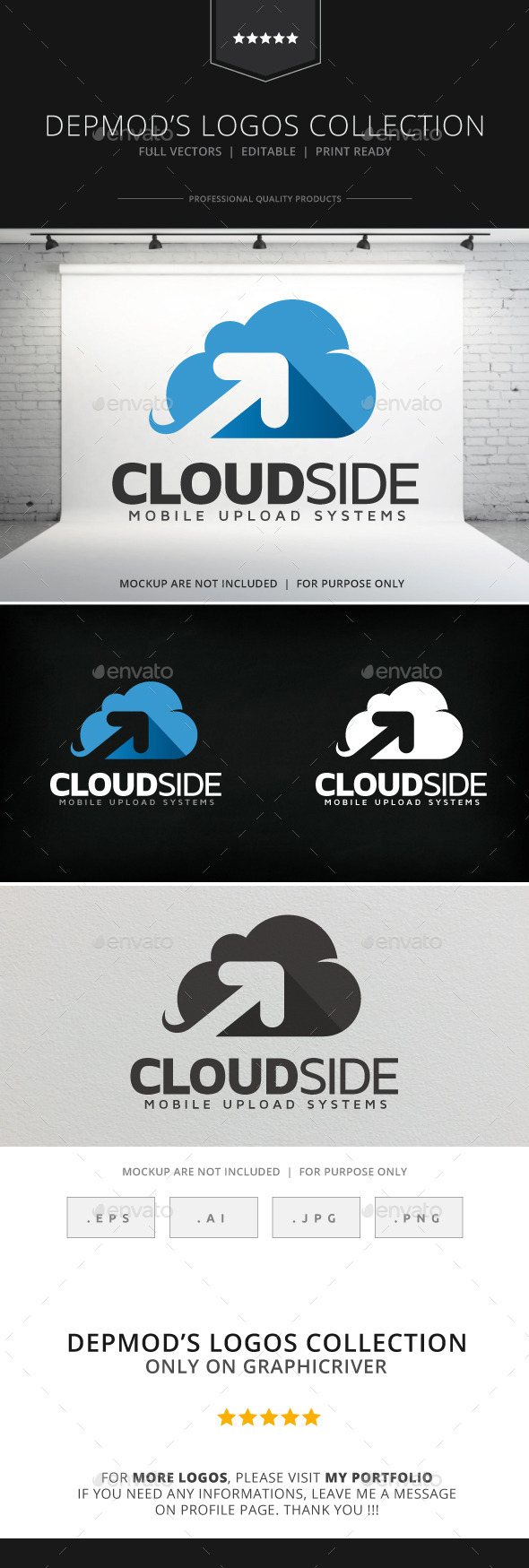 GraphicRiver Cloud Side Logo 8981859