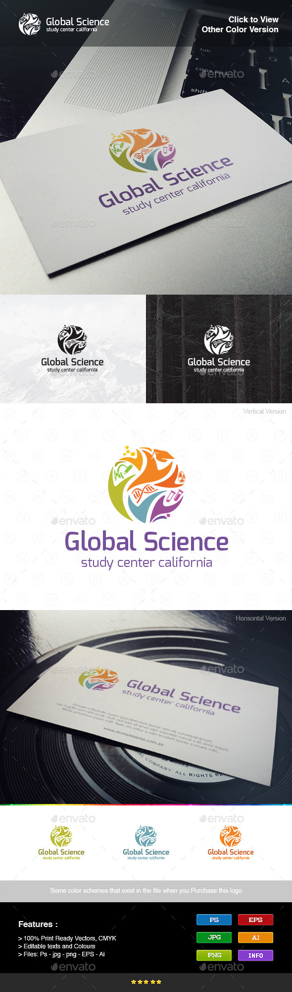 GraphicRiver Global Science 8981927