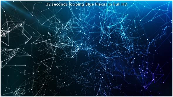 Floating Blue Plexus