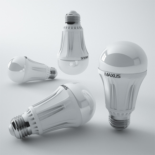 3DOcean Maxus Led Lamp 8982056