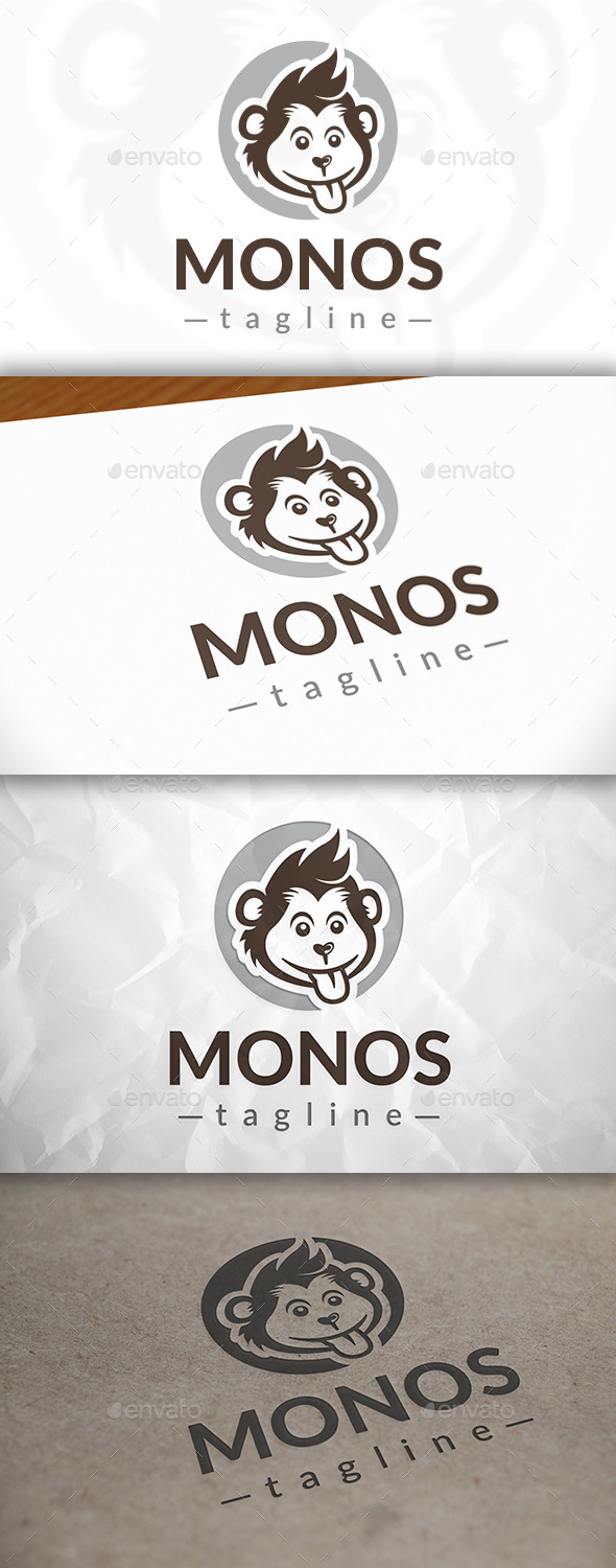GraphicRiver Monkey Logo Template 8982059
