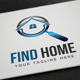 Find Home logo - GraphicRiver Item for Sale