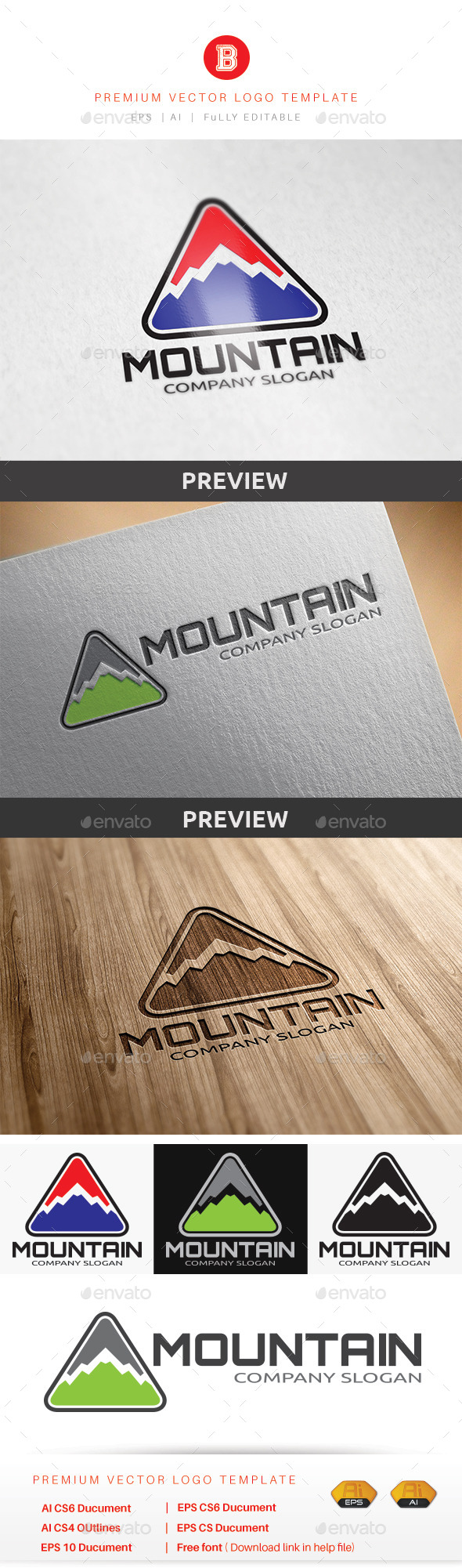 GraphicRiver Mountain V.3 8982125