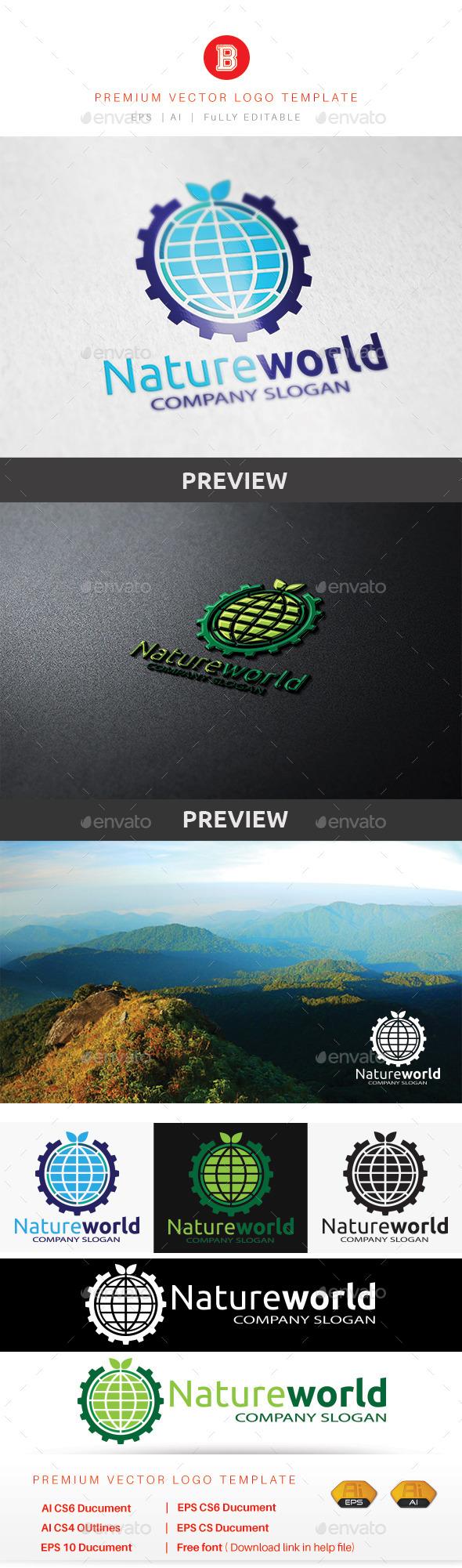 GraphicRiver Nature World 8982144