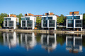 Four new houses at the waterside - PhotoDune Item for Sale