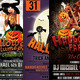 Halloween Party Flyer Bundle 3in1 - GraphicRiver Item for Sale