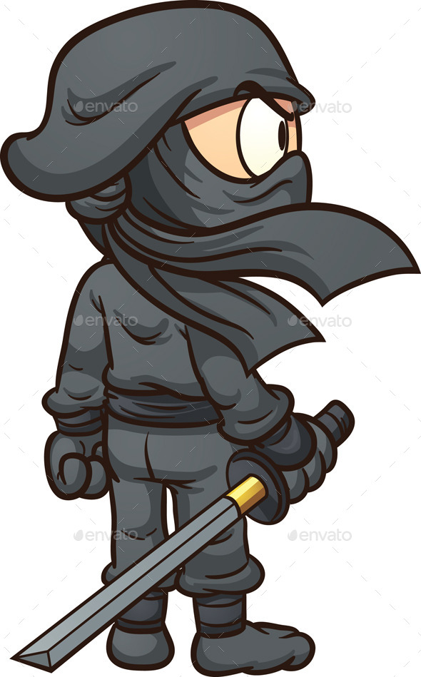 GraphicRiver Cartoon Ninja 8982648