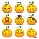 Set of Pumpkins for Halloween - GraphicRiver Item for Sale