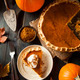 Homemade Pumpkin Pie for Thanksigiving - PhotoDune Item for Sale