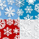 Seamless Patterns of Paper Snowflakes - GraphicRiver Item for Sale