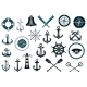 Set of Nautical Icons - GraphicRiver Item for Sale