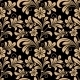 Floral Seamless Pattern with Gold Flowers - GraphicRiver Item for Sale