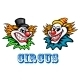 Colorful Circus Clowns Characters - GraphicRiver Item for Sale