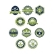 Camping and Travel Icons or Badges - GraphicRiver Item for Sale