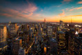 Sunset over Manhattan - PhotoDune Item for Sale