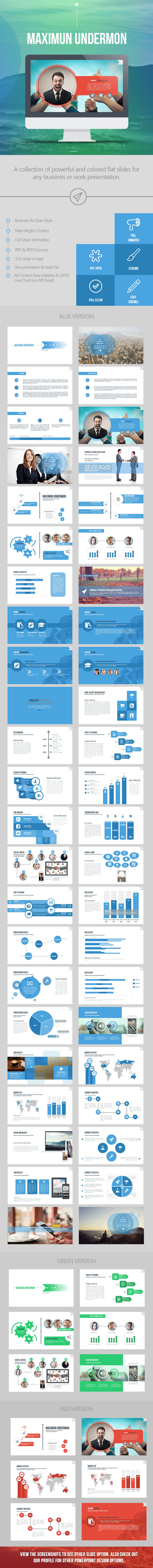 GraphicRiver Maximun Undermon Business 8806784