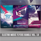 Electro Music Flyer Bundle Vol.17 - GraphicRiver Item for Sale