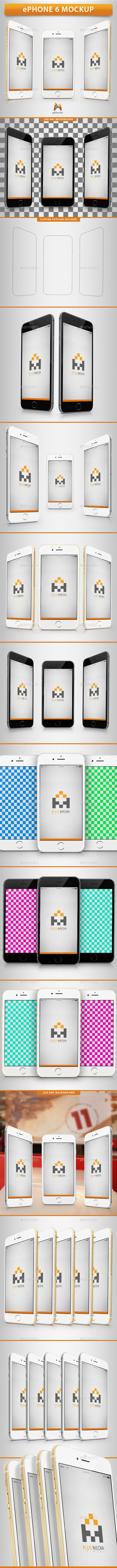 GraphicRiver ePhone 6 Mockup 8975859
