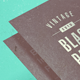 Vintage Black Paper Mockup - GraphicRiver Item for Sale