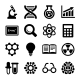 Science Icons Set Vector - GraphicRiver Item for Sale