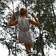 Girl on Swing in Slow Motion - VideoHive Item for Sale