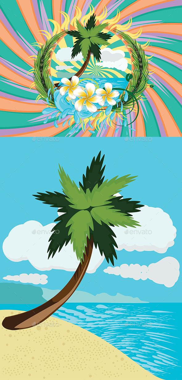 GraphicRiver Tropic Island 8987359