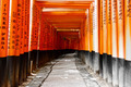 Japanese Shrine of Kyoto with Red Gates Torii - PhotoDune Item for Sale