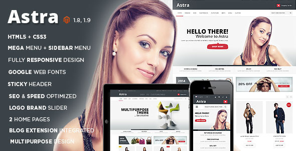 ThemeForest Astra Responsive Multipurpose Magento theme 8947969