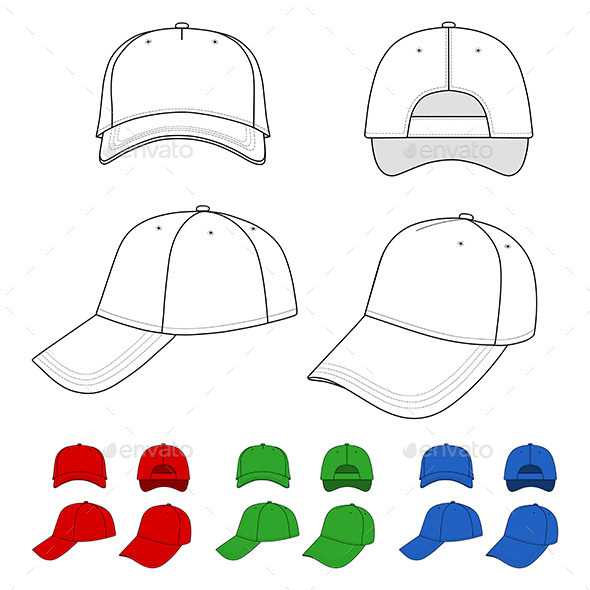 GraphicRiver Cap Outlined Template 8987398