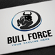 Bull Force Logo - GraphicRiver Item for Sale