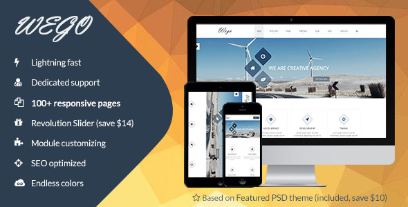 ThemeForest Wego Multi-Purpose Corporate HTML5 Template 8961332