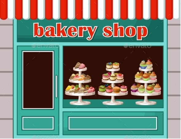 GraphicRiver Store of Sweets and Bakery 8987438