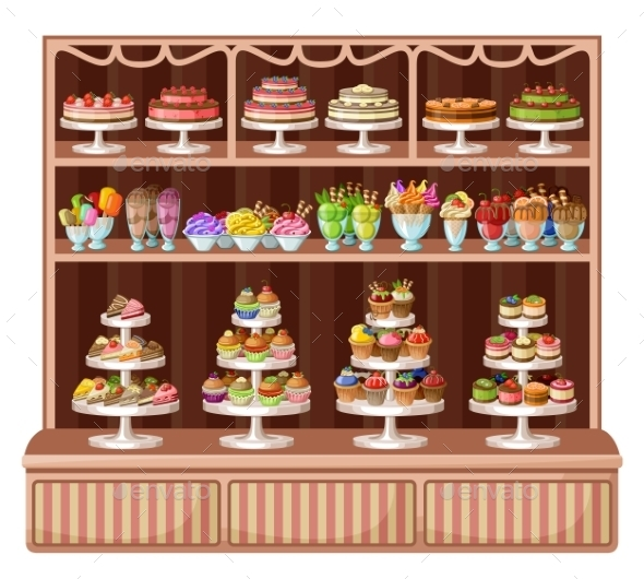 GraphicRiver Store of Sweets and Bakery 8987444