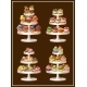 Set of Sweets on Plates.  - GraphicRiver Item for Sale