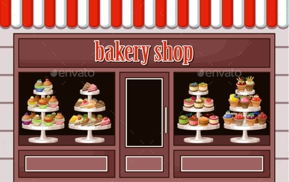 GraphicRiver Store of Sweets and Bakery 8987481