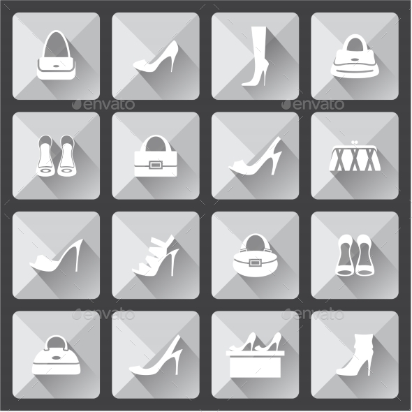 GraphicRiver Set of Flat Icons 8987482
