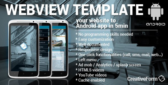 CodeCanyon WebView Android Template App 8987486