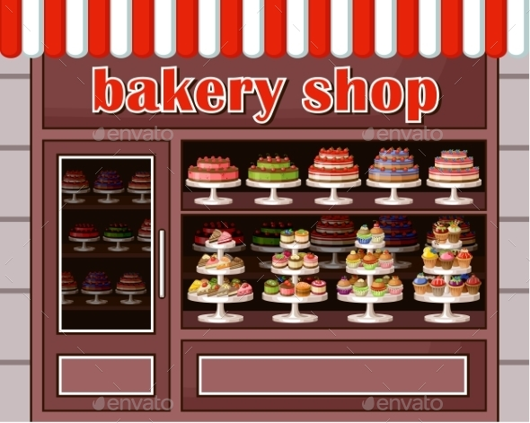 GraphicRiver Store of Sweets and Bakery 8987485